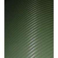 Пленка карбон 3D зеленый хаки