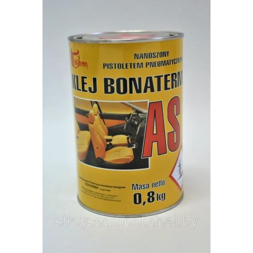 Клей высокотемпературный BONATERM AS под пистолет банка 0.8кг