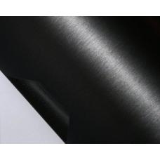Пленка под шлифованный алюминий черный