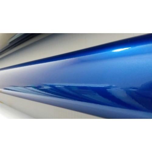 Глянцевая виниловая пленка синий перламутр