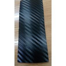 Пленка карбон 3д черный со структурой Hexis