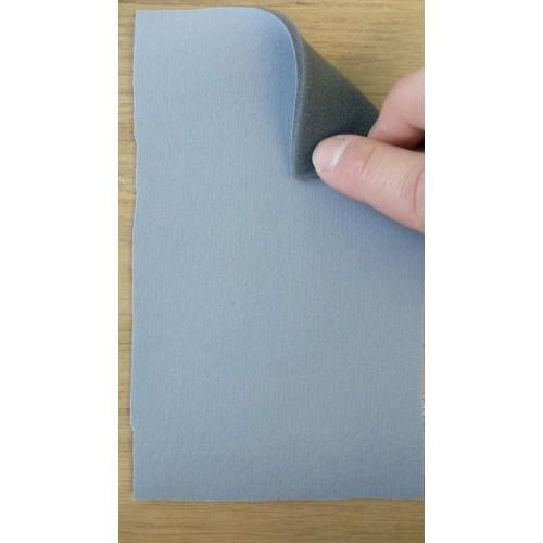 Потолочное трикотажное полотно на поролоне 3мм серого цвета