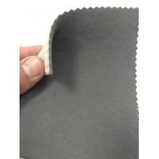 Ткань велюр серый темный Германия