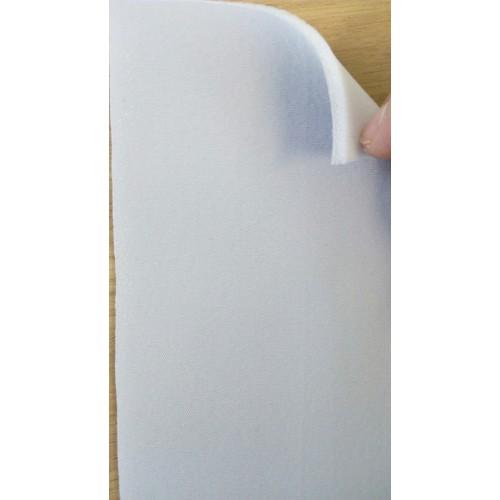Потолочное трикотажное полотно на поролоне 3мм светло-серого цвета