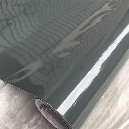 Глянцевая виниловая пленка темно-серая