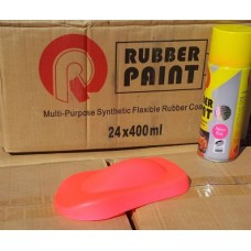 Жидкая резина для авто в баллончике 400мл цвет розовый неоновый