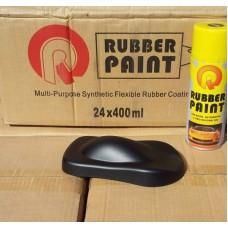 Жидкая резина для авто в баллончике 400мл цвет черный