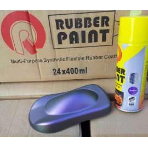 Жидкая резина для авто в баллончике 400мл цвет сине-фиолетовый хамелеон