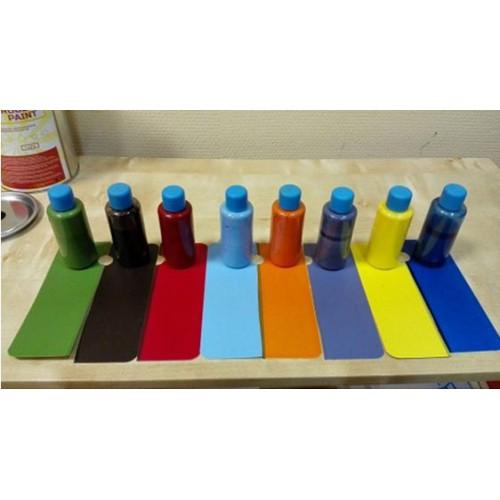 Колеры (пигменты) для колеруемой жидкой резины