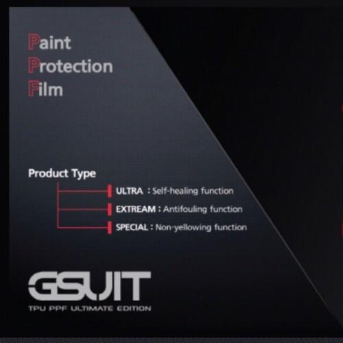 Антигравийная полиуретановая пленка GSUIT PPF ULTRA Корея