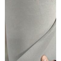 Ткань велюр серый светлый Германия