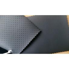 Экокожа Наппа на микрофибре 1.5мм черный цвет